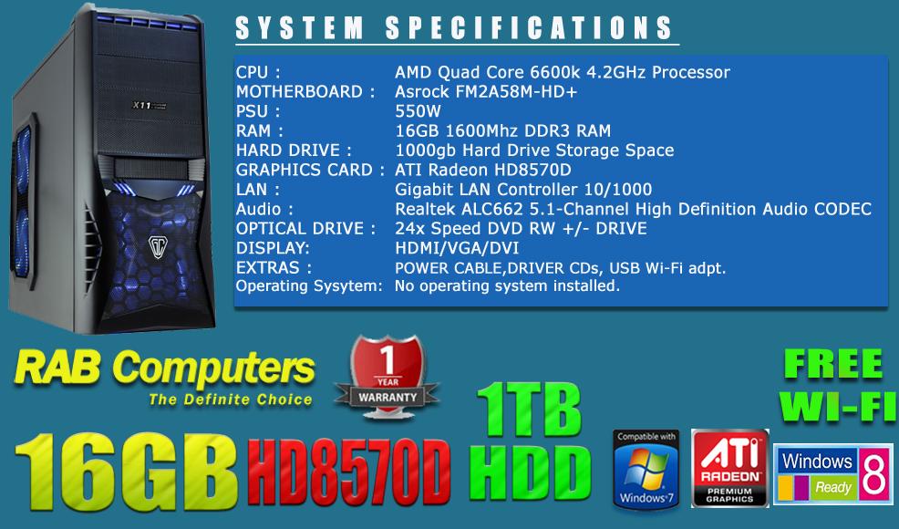 new-Quad-core-AMD-6600k-1tb-16gb-WIFI-vantageBLUE